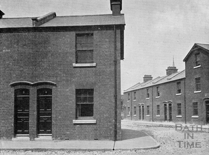 The New Workman's Dwellings, Archway Street, Dolemeads, 1901