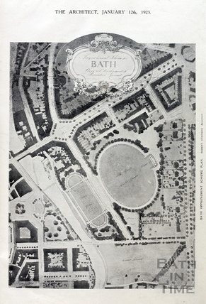 Improvement Scheme or Bath. Proposed Development for Recreation Ground 1923