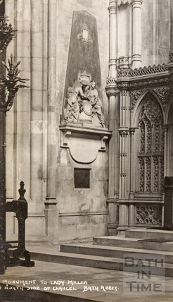 Monument to Lady Miller c.1920