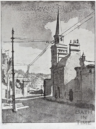 St Swithins, Walcot Church c.1926