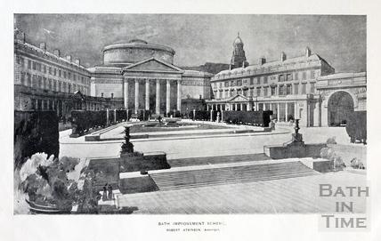 Bath Improvement Scheme 1923. Robert Atkinson architect.