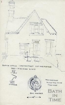 Station Cottage, Claverton Street 20-Dec-1963