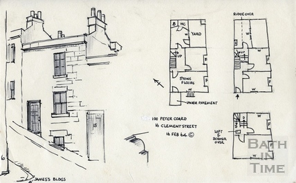 16, Clement Street, Bath 16 February 1964