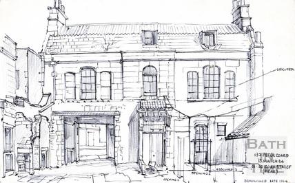 31/30 Corn Street, Bath 13 March 1964