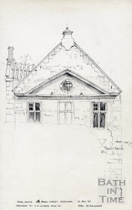 Poor House, 56 High Street, Bath, Corsham 22 December 1975