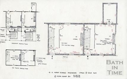 12, 13 Albert Terrace, Dolemeads, Bath 30 January, 5 February 1966