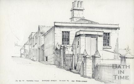 39,40,41 Mandds Villa, Dafford Street, Bath 30 May 1972