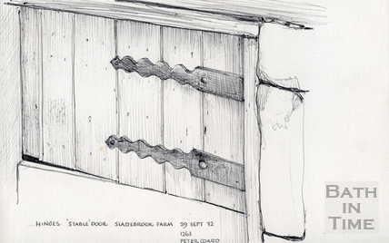 Sladebrook Farm, Englishcombe Lane, Bath 29 September 1972