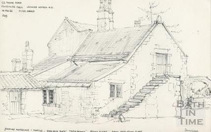 Glasshouse Farm, 123 Frome Road, Odd Down, Bath 14 Feb 1966