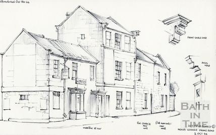 Noad's Corner, Frome Road 02-Oct-1964