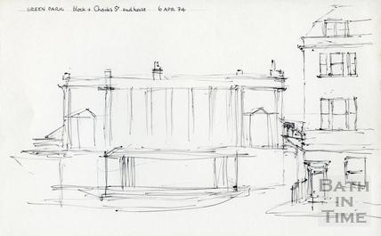 Green Park, Bath 6 Apr 1974