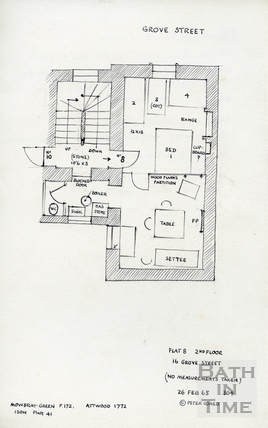 16 Grove Street, Bath 26 February 1965