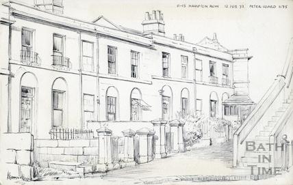 11 15 Hampton Row, Bath 12 Feb 1972