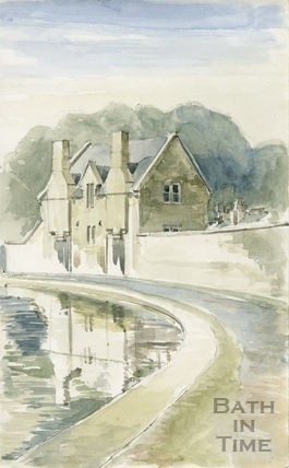 Beside the Kennet and Avon Canal, Widcombe, Bath