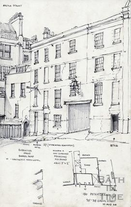 25 28 Grove Street, Bath 10 August 1964