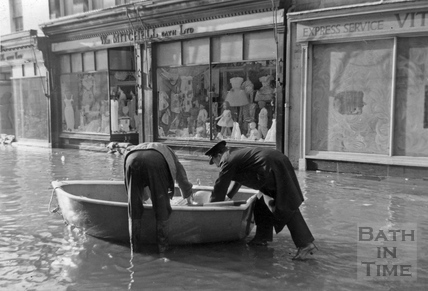 Southgate Street flood 1964