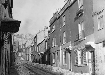 Ballance Street January 1963