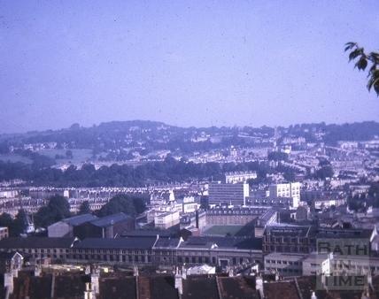 View from Beechen Cliff Sept 1971