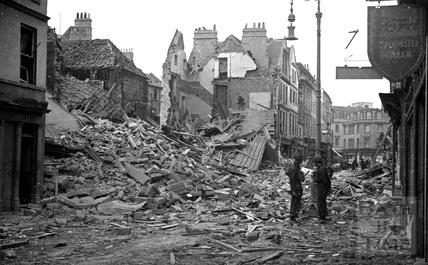 Kingsmead Street, Bath, 1942