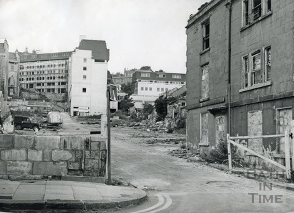 The last building in Ballance Street August 1971