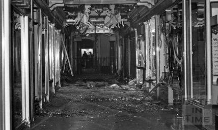 The inside of the Corridor 1974