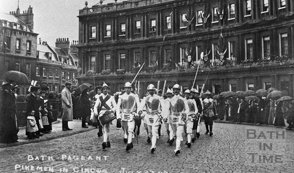 Bath Historic Pageant 1909