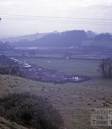 The Mead, Newbridge Road. Winter 1970-71