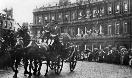 Lord Mayor visit to Bath 1909