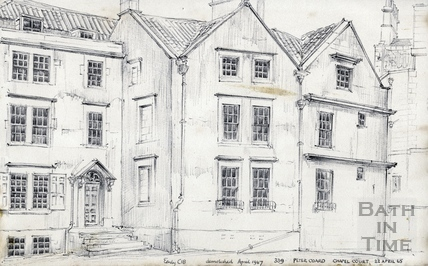 Hetling Court, Bath 22 April 1965