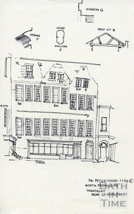 High Street, Bath  1 Jan 1964
