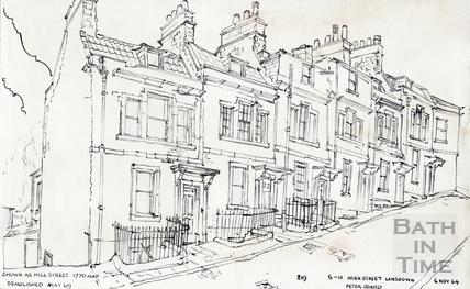 High Street, Lansdown 06-Nov-1964