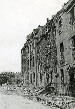 Lansdown Place East, Bath, April 1942