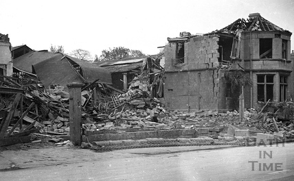 Another direct hit in Oldfield Park April 1942