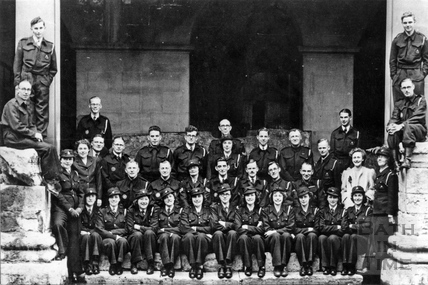 Members of the Bear Garage First Aid Post at the Roman Baths, c.1940