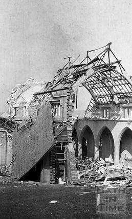 St Bartholomews, the Citys newest church April 1942