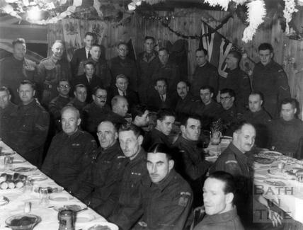 Bath Home Guard Dinner 1945?