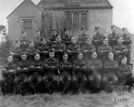 Bath Home Guard, at Newton St Loe, near Bath, c.1940