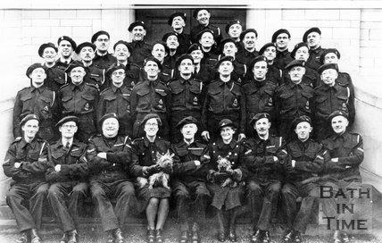 E. Group Wardens, Bath, Dec 6th 1942