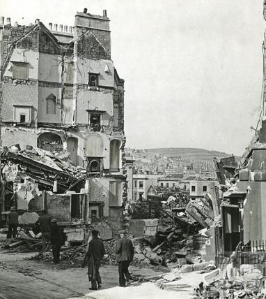 The Paragon, Bath, April 1942