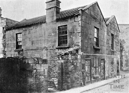 Old Houses in the Dolemeads 1901