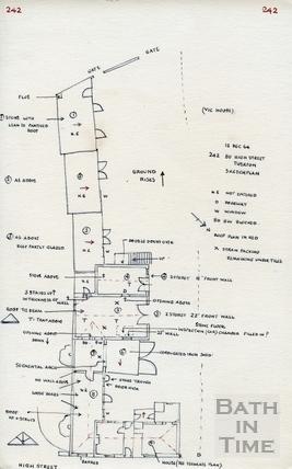 High Street, Bath Twerton 12 Dec 1964
