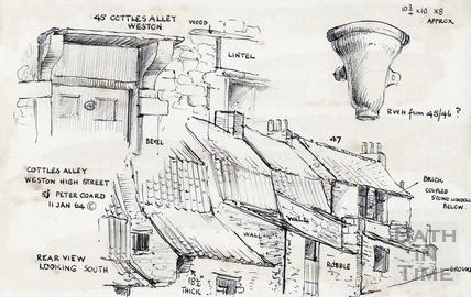 High Street, Bath Weston 11 Jan 1964