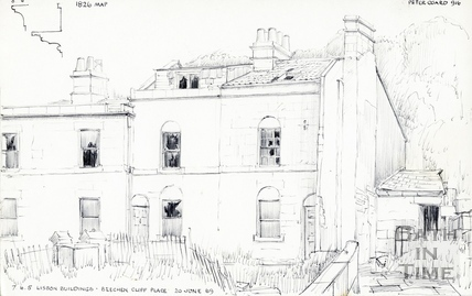 Beechen Cliff Place, Holloway 20-Jun-1969