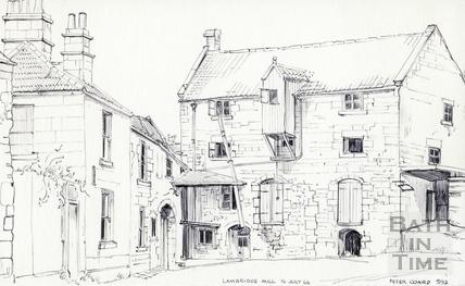 Lambridge Mill, Larkhall, Bath 16 July 1966