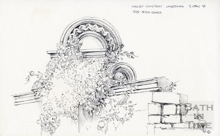 Lansdown Road, Bath 9 Jun 1975
