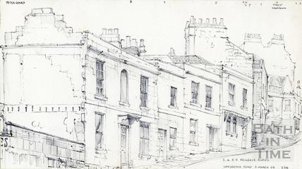 Lansdown Road, Bath 5 Mar 1969