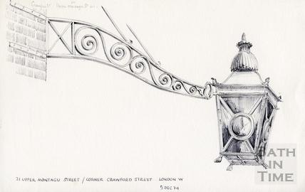 Lamps, London 9 December 1974