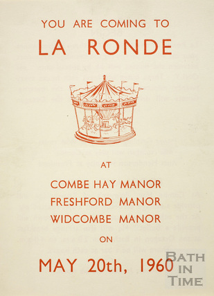 La Ronde Festival Ball May 20th 1960