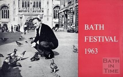 Bath Festival promotional leaflet 1963