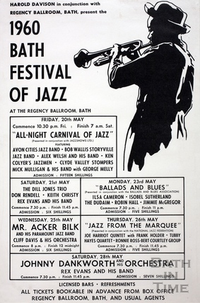 Bath Festival of Jazz May 1960